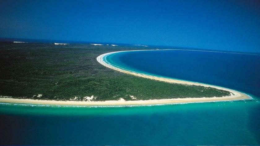 Fraser Island shoreline