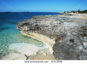 Grand Bahama Island 2 - Eroded Rocky Landscape