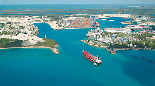 Grand Bahama Island - Freeport Harbor