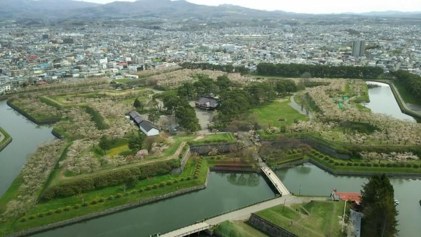Hakodate, Hokkaido, Japan Star Fort