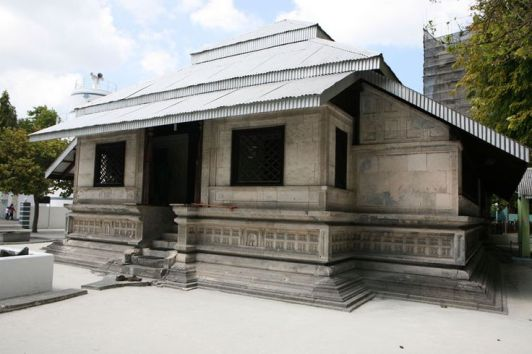 Maldives - Old Friday Mosque