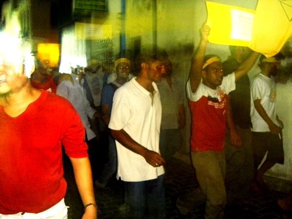Maldives Unrest