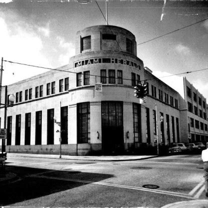 Miami, FL - Miami Herald Building