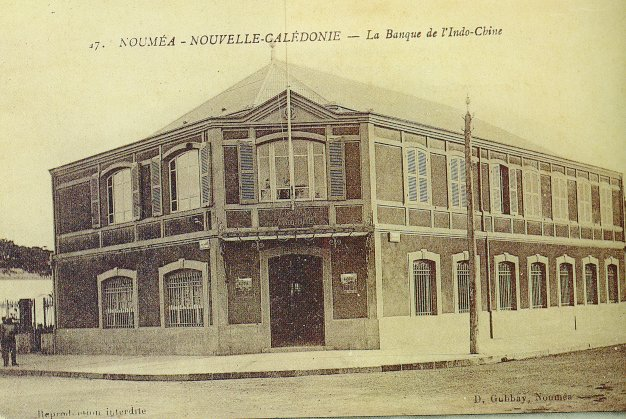 New Caledonia - Bank of Indochina