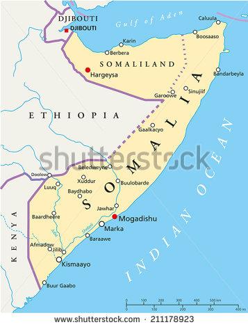 Somalia - Hargeysa Map