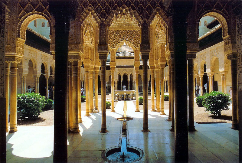 Alhambra cloisters