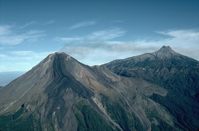 Colima, Mexico volcano