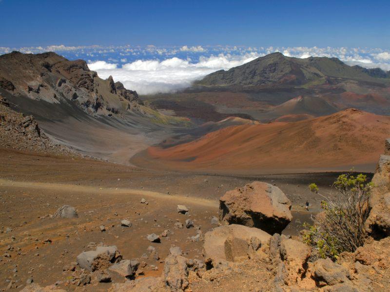 Haleakala National Park, Maui island, Hawaii, USA
