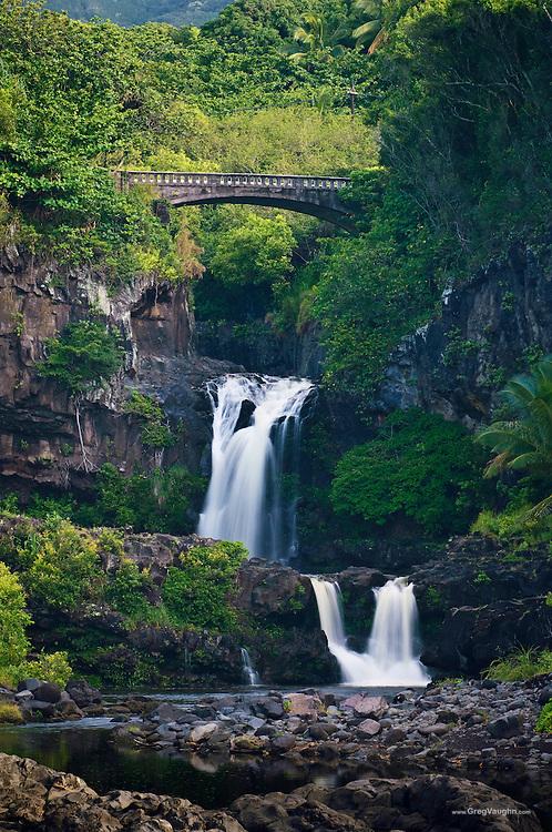 Maui - Oheo Gulch waterfalls Haleakala National Park