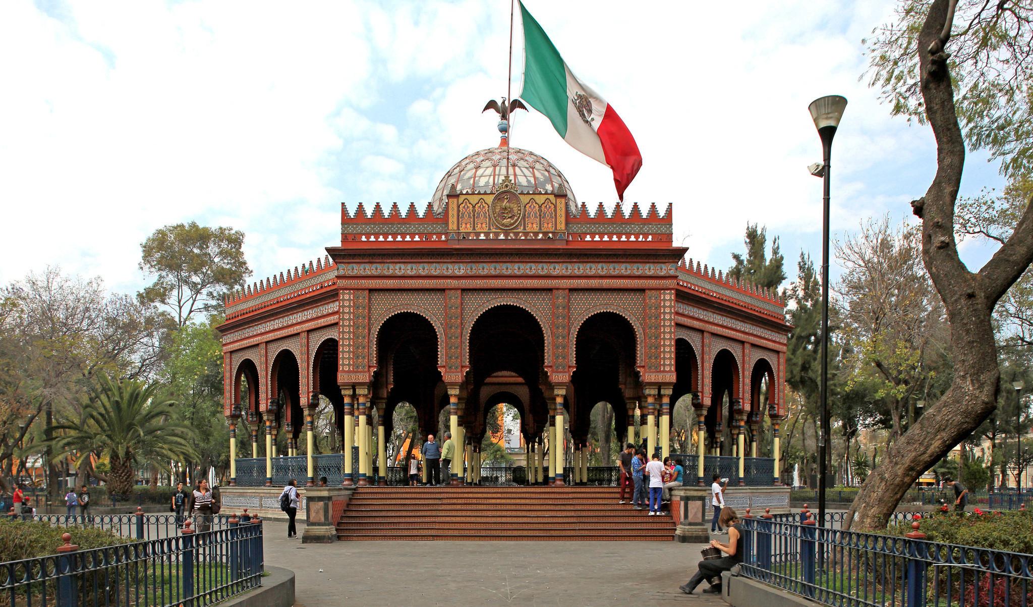 Mexico City Moorish Kiosk 2