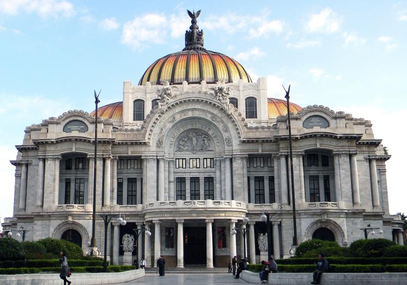 Mexico City Palacio de Bellas Artes