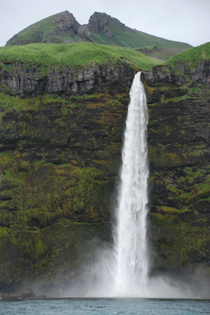 Near Islands - Agattu 4 - waterfalls