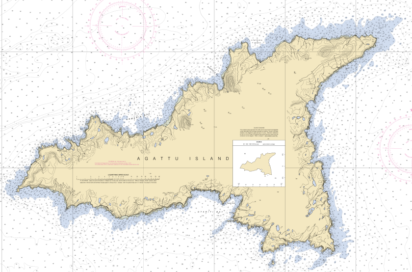 Near Islands - Agattu Map