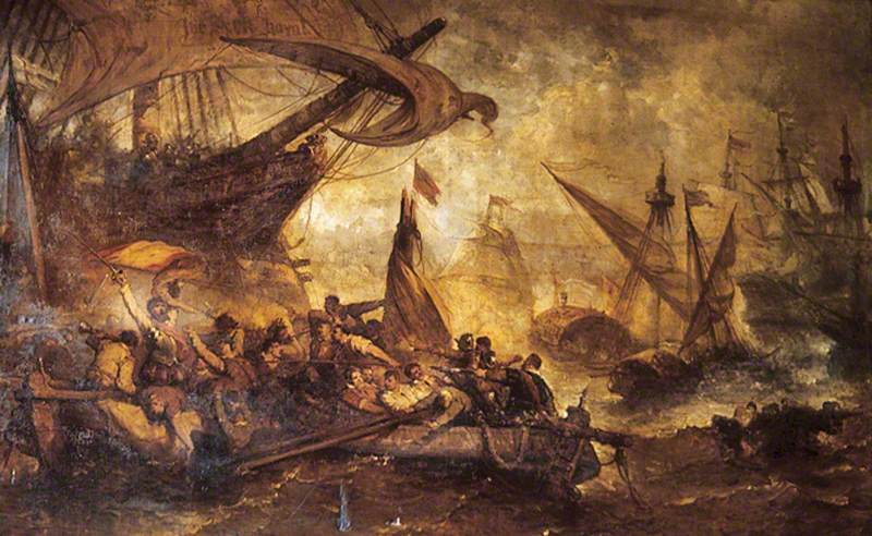 Spanish Armada defeat