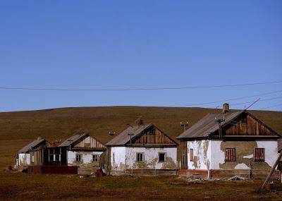 Wrangel Island - Abandoned residences Ushakovskoye