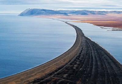 Wrangel Island - Shaped Shoreline