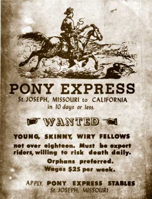 This image has an empty alt attribute; its file name is c7953-pony-express-flyer.jpg